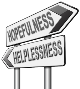 Helplessness to Hopefulness