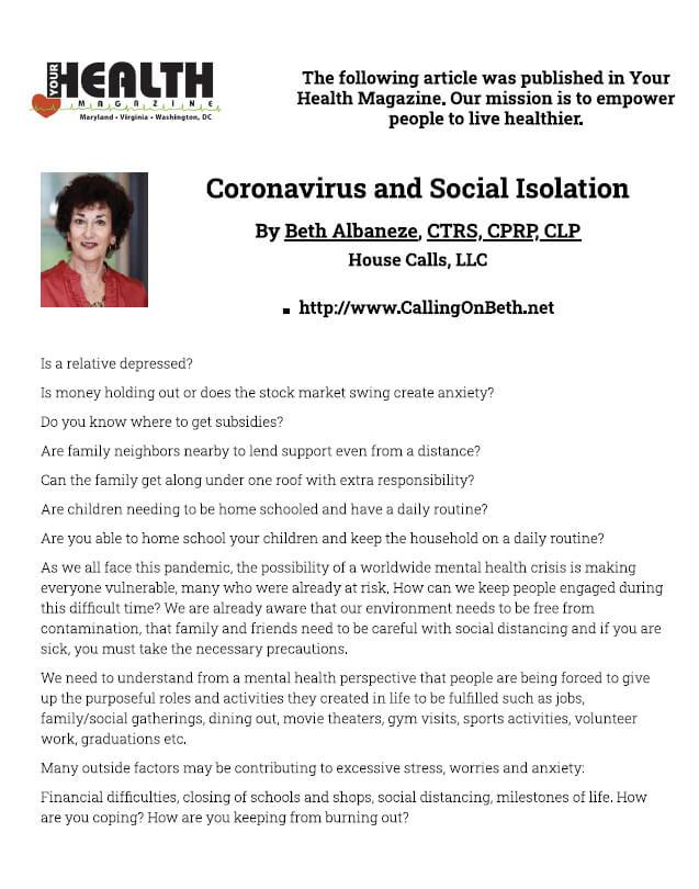 Health-Magazine-Beth-Albaneze_Isolation_Coronavirus